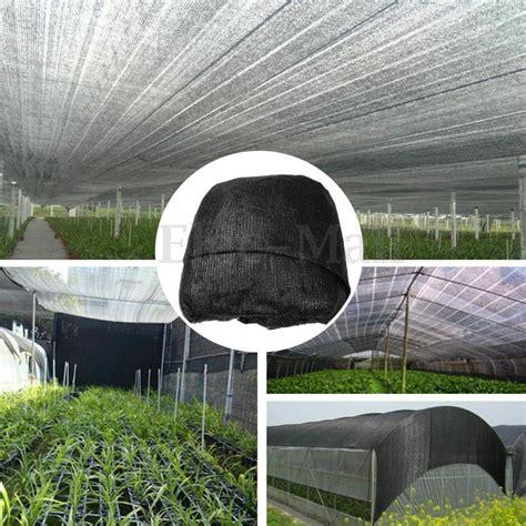 shade fabric outdoor 60 uv black sunshade fabric shade cloth greenhouse garden outdoor shadecloth ebay
