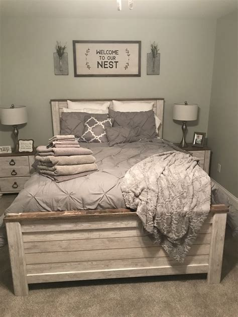 guest bedroom ideas sign  hobby lobby bedding  target bed set  ashley furniture
