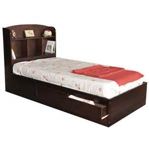 Trundle Bed With Bookcase Full Captains Bed Youth Mates Bed Natural Storage Beds
