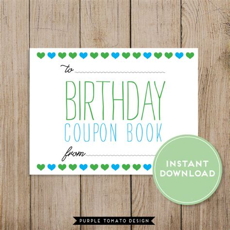 birthday coupon template birthday coupons 23 free psd ai vector eps format