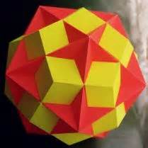 Origami Diagrams Compound Of Dodecahedron And Great - stella users polyhedron models