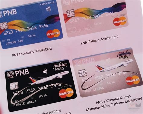 Credit Card Form Pnb Pnb Mastercard Credit Card New Look And Enhanced Features Pal Mabuhay Promo Nognog In