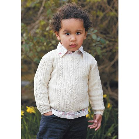 pattern jumpers try a traditional knit child s cable jumper