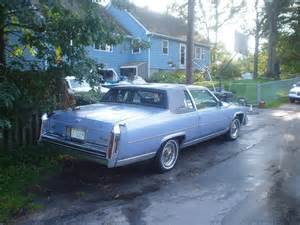 1984 Cadillac Brougham 1984 Cadillac Fleetwood Brougham Coupe