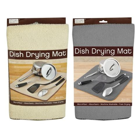 kitchen drying mat kitchen basics dish drying mat from the makers of the