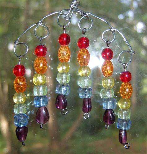 how to make beaded suncatchers glass bead suncatchers crafts