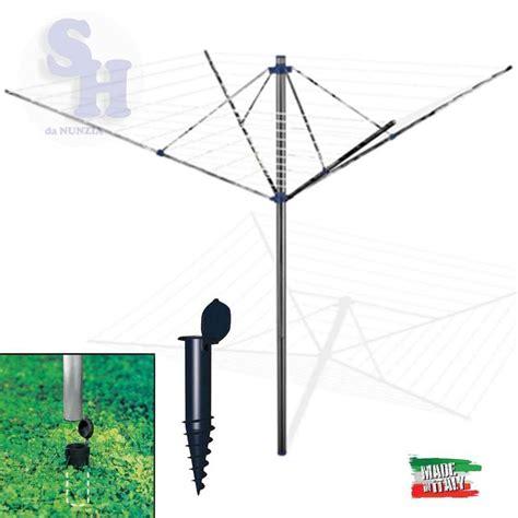 ombrello da giardino stendibiancheria gimi garden 50 metri per esterno