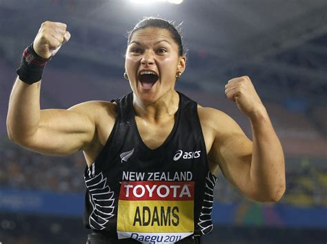 Putter Shot Valerie Adams New Zealand | gold valerie adams new zealand shot put goat queen