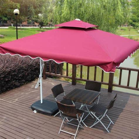 Stall Outdoor Umbrellas Sun Umbrella Booth Beach Patio Waterproof Patio Umbrella