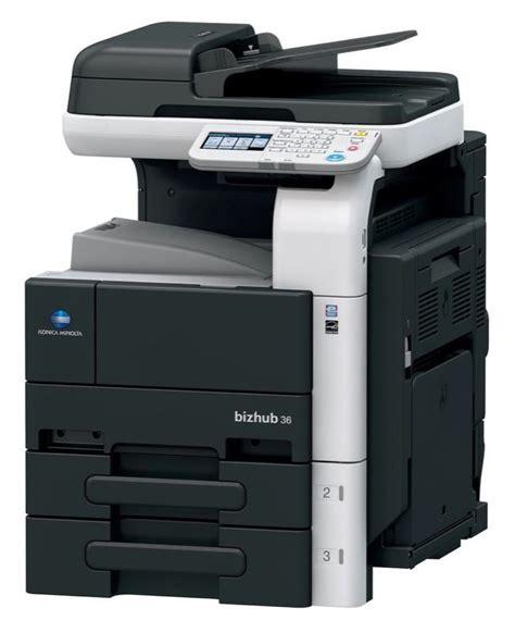 Printer Konica Minolta konica minolta bizhub 36 monochrome multifunction printer copierguide