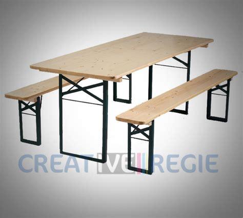 table pliante et bancs de cantine cr 233 ative r 233 gie