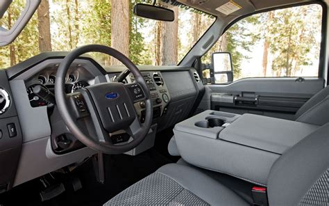 2012 F250 Interior by 2012 Ford F 250 Xlt Westport Cng Test Truck Trend