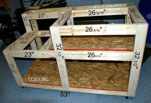 Wooden Work Bench Plans Free by Table Saw Workbench With Wood Storage