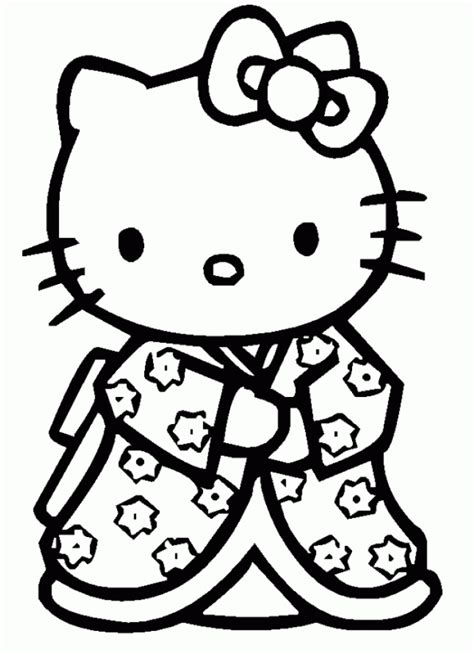 hello kitty and minnie mouse coloring pages coloriage hello kitty dessins a imprimer pour les moyens