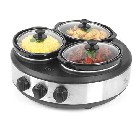 crock pot buffet servers tru 3 crock buffet server cooker cookware