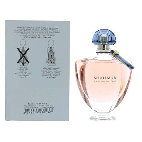 Parfum Terbaru Original Guerlain Shalimar Tester shalimar parfum initial by guerlain 3 4 oz eau de parfum spray for tester jumpset