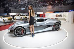 Electric Car Geneva Motor Show 2016 Rimac Concept One 0 62 Mph In 2 6 Seconds Shows Up