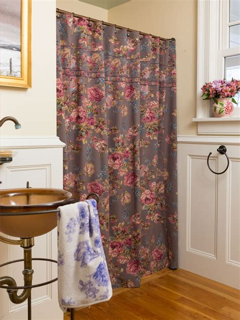 victorian shower curtain victorian rose shower curtain your home curtains