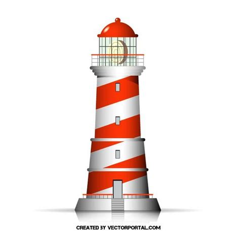 LIGHTHOUSE VECTOR ILLUSTRATION   Download at Vectorportal