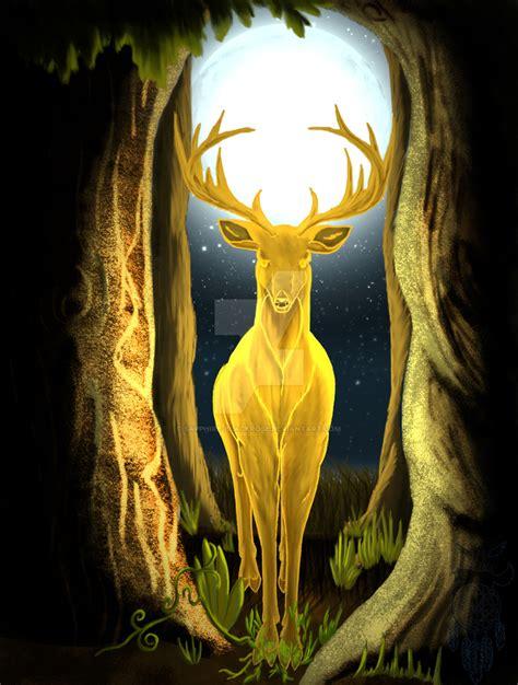 Golden Stagger Discount 15 cernunnos the golden king stag by sapphire blackrose on deviantart