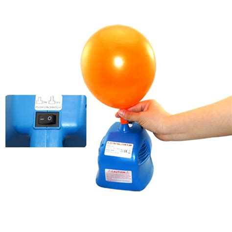 Blue Electric Ballon cheap electric balloon air inflator uk for sale partyone