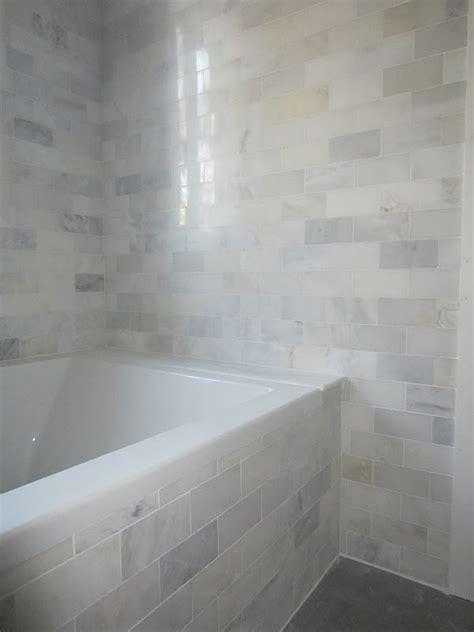 Bathroom Backsplash Ideas And Pictures by The Cuban In My Coffee Master Bathroom Progress Carrara