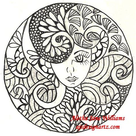 doodle combinations soul zentangle circles just a circle aletha williams