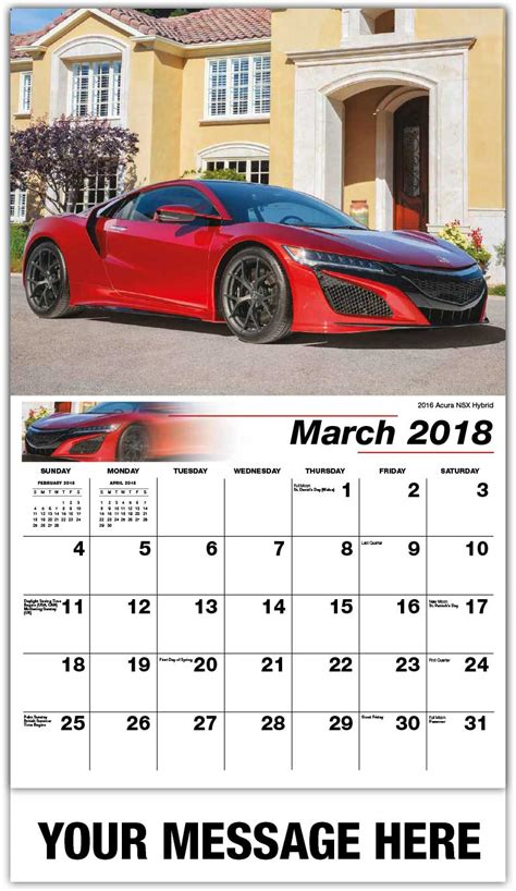 Calendar 2018 Car Car Calendar 65 162 Business Advertising Promotional