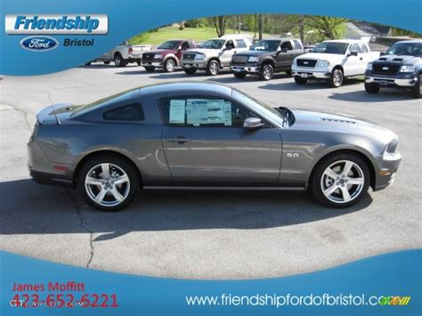 2013 mustang gt colors 2013 sterling gray metallic ford mustang gt coupe