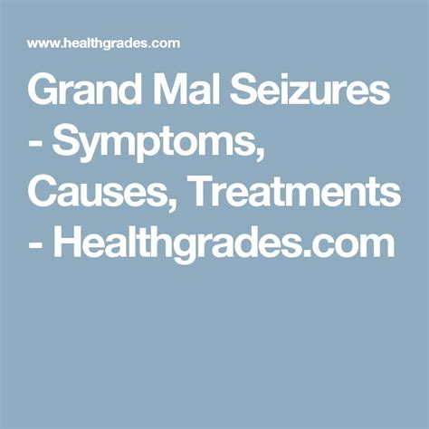 Detox Grand Mal Seizure by Best 25 Grand Mal Seizure Causes Ideas On