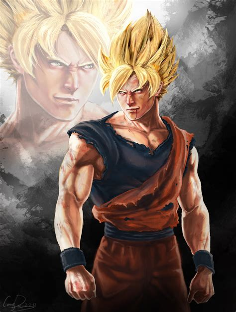 imagenes realistas dragon ball z dragon ball imagenes realistas arte digital im 225 genes