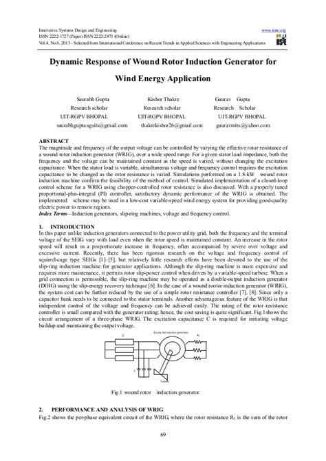 induction generator theory and application induction generator in wind turbine application 28 images wind energy application exles