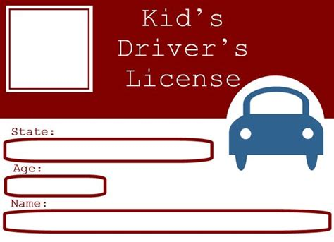 free drivers license template blank driver s license template for who want to