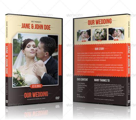 wedding dvd wedding cd dvd cover free psd brochure template