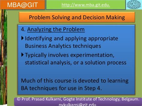 Mba Or Analytics by Business Analytics Module 5 14mba14 According To New Vtu