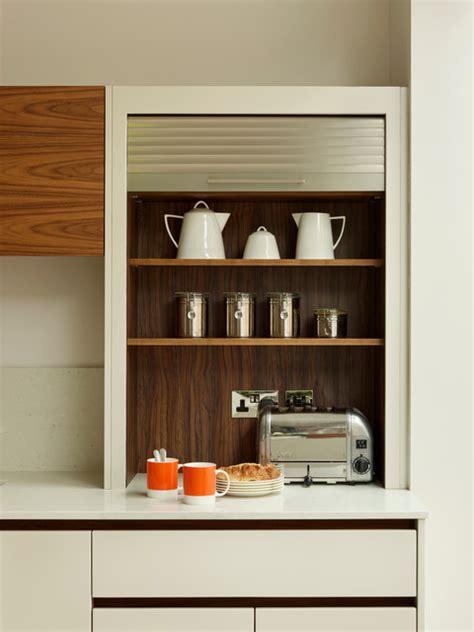 tambour door kitchen cabinet kitchen cabinets contemporary kitchen london by