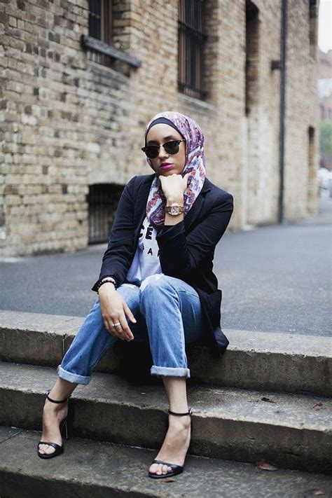 Blouse Muslim Lina casual styles with trends 2017 2018