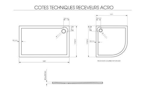 Accessoires Salle De Bain 7933 by Receveurs De Acrylique 90 X 180 Bac De