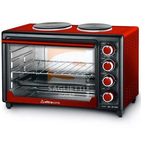 anafe y horno electrico horno electrico con anafes 40 litros ultracomb uc40ac nuevo