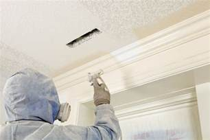 spray painting walls and ceilings spray paint walls or roll them which is faster easier