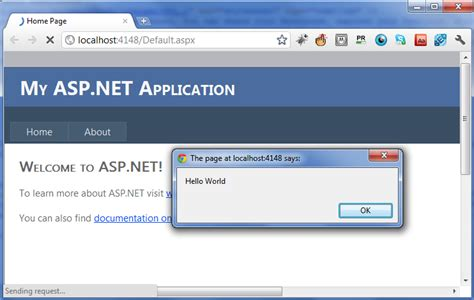 tutorial for web application in asp net net tutorial how to use jquery in asp net web