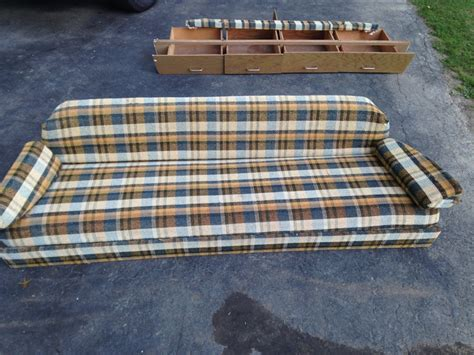 gaucho bed airstream gaucho sofa bed couch drawers shelves frame