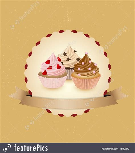 templates cupcake banner stock illustration i3452272 at