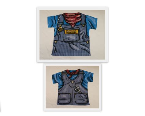 Overall T Shirt engineer overall t shirt california state railroad