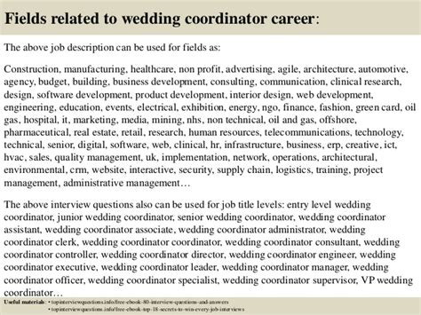 Wedding Planner Description by Top 10 Wedding Coordinator Questions And Answers