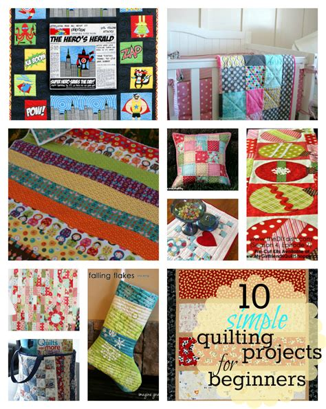 Easy Quilt Projects For resources for time quilters and an easy beginner