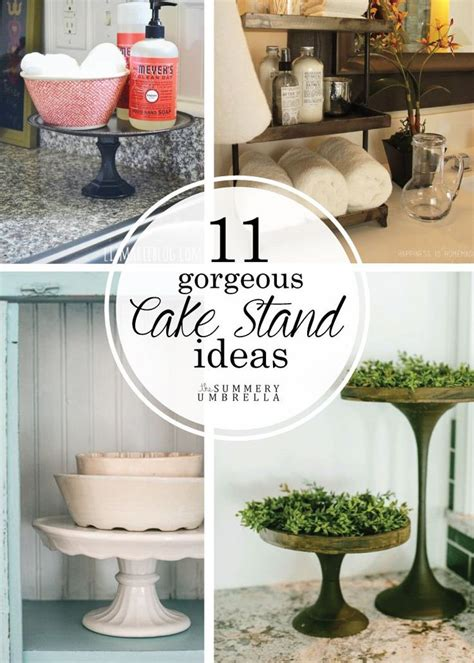 Cake Plate Decorating Ideas by 25 Best Ideas About Cake Stand Display On Diy
