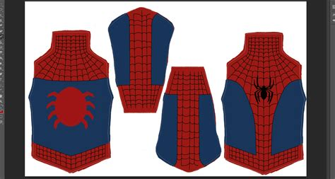 spiderman pattern suit spiderman suit pattern
