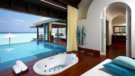 pool in bathroom anantara kihavah villas maldives south male atoll maldives
