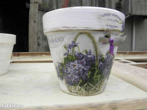 decoupage clay pots ideas 1000 ideas about decorated flower pots on